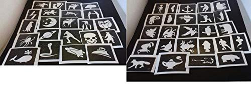 50 x Chicos temática Mini Space Deporte fútbol dragón Plantillas murciélago pequeño Dinosaurio
