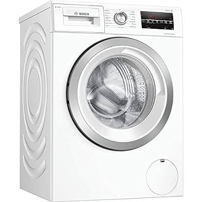 Bosch WAU28S80GB Serie 6 Freestanding Washing Machine with i-DOS intelligent dosing & SpeedPerfect, 8kg load, 1400rpm spin, white
