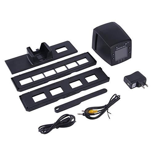 Convertidores Digitales de escaneo de Diapositivas negativas USB, escáner Digital de Pantalla Digital LCD de 2,4 Pulgadas, Visor de escáner de Diapositivas de película Negativa de 35 mm