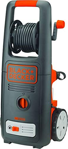 Black+Decker 1800W 135 Bar Pressure Washer Cleaner for Home, Garden and Vehicles, Black/Orange – BXPW1800E-B5, 2 Years…