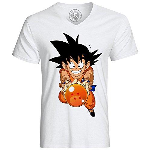 Fabulous T-Shirt Dragon Ball DBZ Goku Sangoku Ball Number 4 Manga Anime