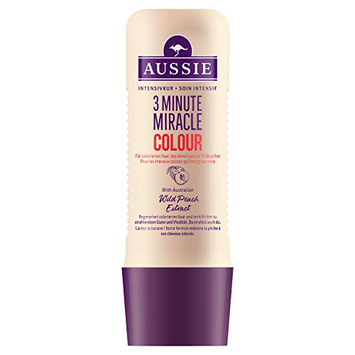 Aussie 3 Minute Miracle Colour Soin Intensif 250 ml