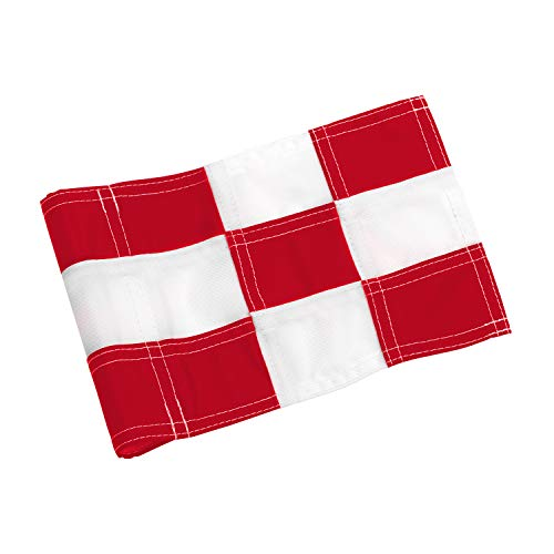Why Should You Buy KINGTOP Checkered Golf Flag with Plastic Insert, Putting Green Flags for Yard, In...