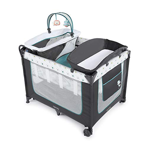 Ingenuity Smart & Simple Packable Portable Playard with Changing Table - Nash
