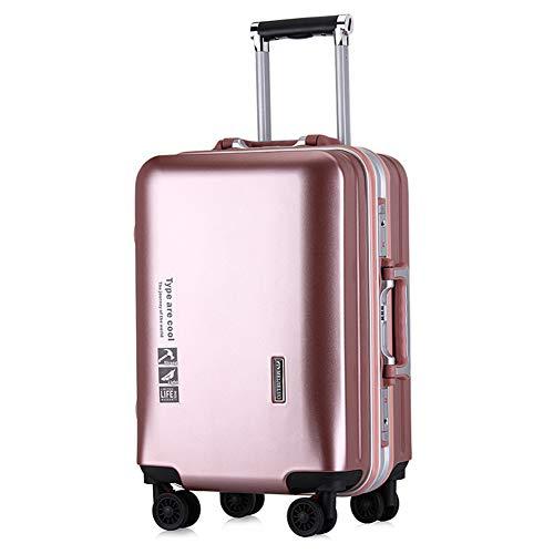 PQG Travel Case, Kofferkuli Fall, Aluminiumrahmen, ABS Ultra Light Außengehäuse, 20 24-Zoll-große Kapazität, Reiseetui.-3-20