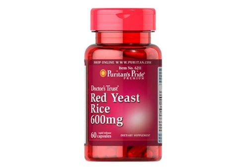 Lievito di Riso Rosso 600 mg - Riduce il Colesterolo - 60 capsule