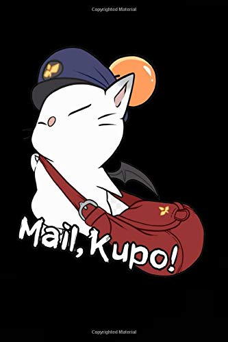 Final Mail Kupo Fantasy Notebook: 100 College Ruled Pages High Quality Soft Cover ; Matte ; Size 6