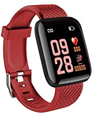 DBSUFV 116 Plus Smart Watch Schermo a Colori Tft da 1,3 Pollici Impermeabile Sport Fitness Tracker Smart Watch
