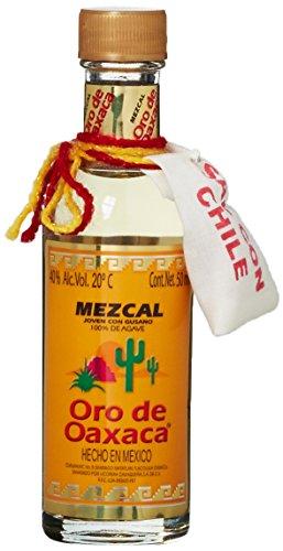 Oro de Oaxaca Mezcal mit Wurm Tequila (1 x 0.05 l)
