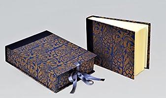 Álbum con caja 16 x 20 tela y papel florentino