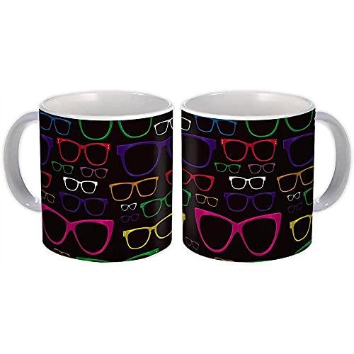 Marcos de gafas : Regalo Jarra : Patrón de forma colorida Diy Scrapbook Kids Sun Eyesight