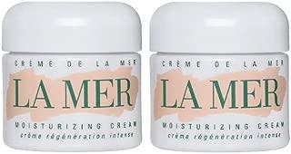 La Mer Creme de La Mer Facial Treatment Products, 2 pack of 2oz Cremes