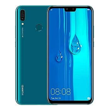 Huawei Y9 2019 JKM-LX3 6.5  HiSilicon Kirin 710 64GB 3GB RAM Dual SIM A-GPS Fingerprint -Glonass No Warranty US  Blue