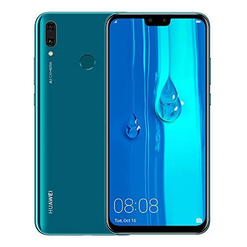 Huawei Y9 2019 – Smartphone 6.5″ FHD+, 64GB, 4000mAh Battery, Desbloqueado – Azul