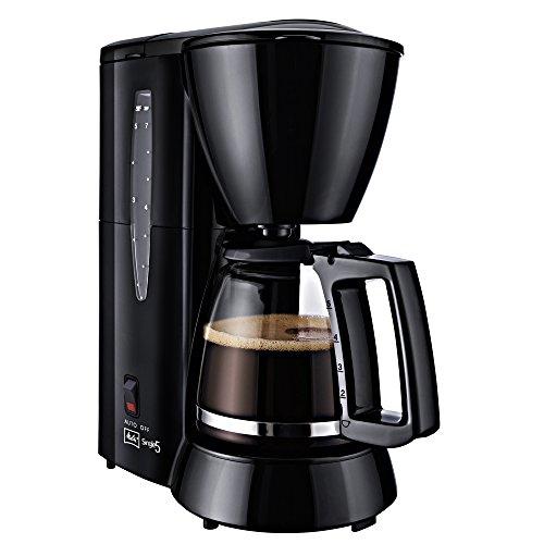 Melitta M720-1/2 Single5 M 720-1/2, Filterkaffeemaschine für kleine Haushalte, Filter-Kaffeemaschine, Kunststoff, Glaskanne Schwarz