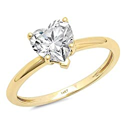 Brilliant Heart Cut  Solitaire