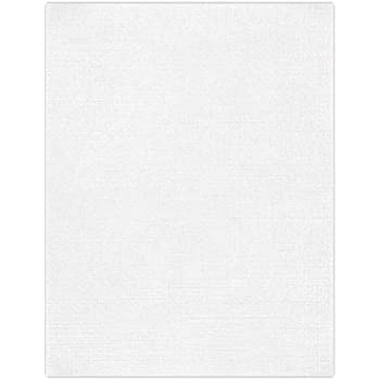 WHITE LINEN CARD 10 Sheets A4 300gsm QUALITY CARDSTOCK Create /& Craft CREAM