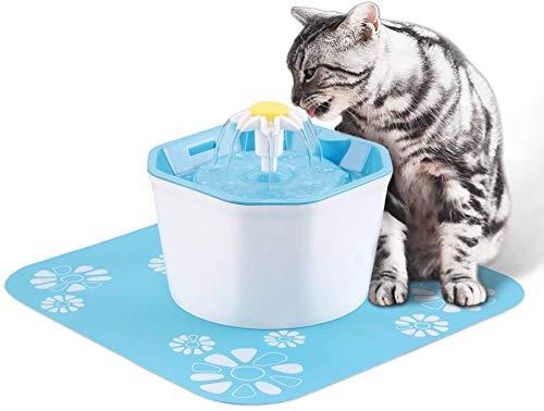 1.6L automática beber mascota fuente del animal doméstico fuente de agua potable ultra silencioso gato eléctrico más que una mascota perros y gatos,Padded