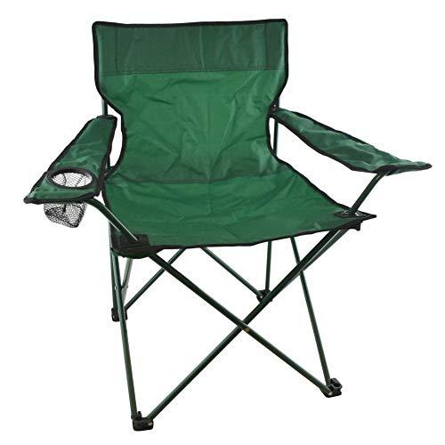 Chaise de camping pliante avec porte-gobelet en toile pour jardin, extérieur, festival, CMP28