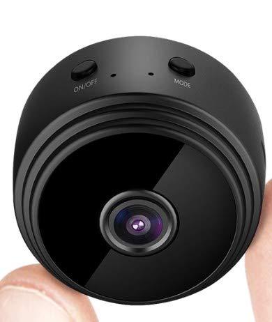 Pofeite Mini Spy Camera Hidden WiFi Small Wireless Video Camera with...