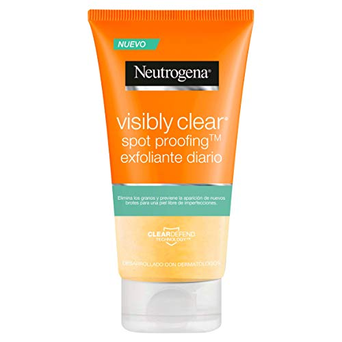 Neutrogena Visibly Clear Spot Proofing Exfoliante Diario - 150 ml.