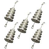 BESPORTBLE 5 Piezas de Pesas de Pesca Plomada con Conjunto Giratorio Interior de Perlas de Pesca Agua Salada de Agua Dulce 21G