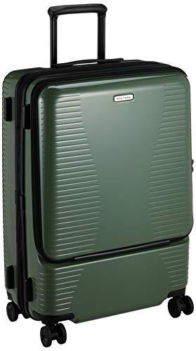 [ワールドトラベラー] スーツケース プリマス エキスパンダブル キャスターストッパー付 74L 4.9kg グリーン