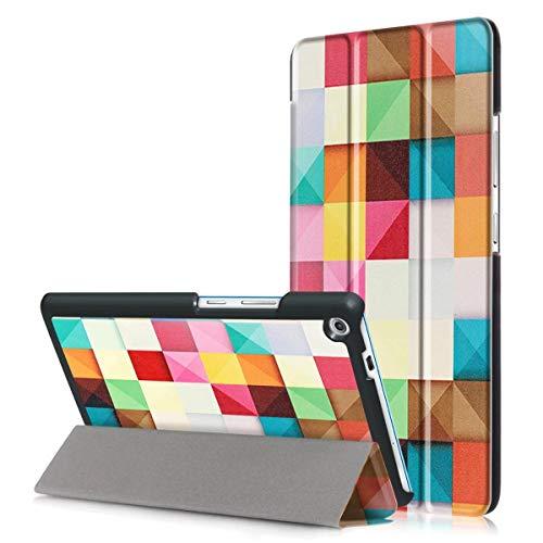 Mincol-us case for Lenovo Tab3 7' Plus(TB-7703F/7703X), Adjustable Angle, Side flip, Super Magnetic, Suitable for Lenovo Tab3 7' Plus(TB-7703F/7703X).-Magic Cube
