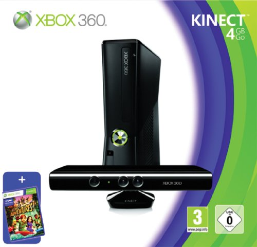 Xbox 360 Bundle 4gb+Kinect