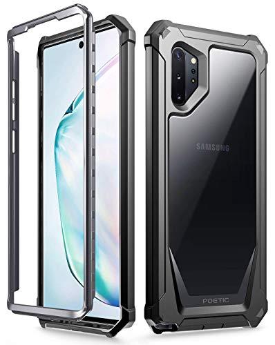 Poetic Galaxy Note 10 Plus Funda, Carcasa Guardián Funda para Samsung Galaxy Note 10 Plus [Resistente a los Rayones] Cuerpo Robusto Híbrida para Samsung Galaxy Note 10+ Plus 5G, Negro