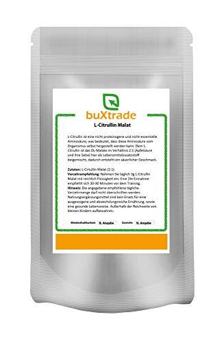 500 g L-Citrullin Malat Pulver | L Citrullin DL-Malat 2:1 | Pulverform