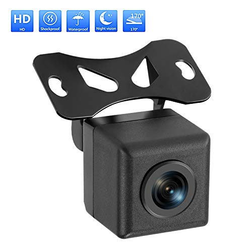 Car Backup Camera Rilitor Rear View Parking Reverse Camera with HD CMOS 170° Angle IP67 Waterproof Night Vision Reversing Cameras for Cars Truck SUV RVs backup Cameras Vehicle
