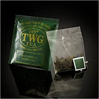 TWG Singapore - Luxury Teas - Waterfruit Green Tea - BULK PACK - 100 silk teabags