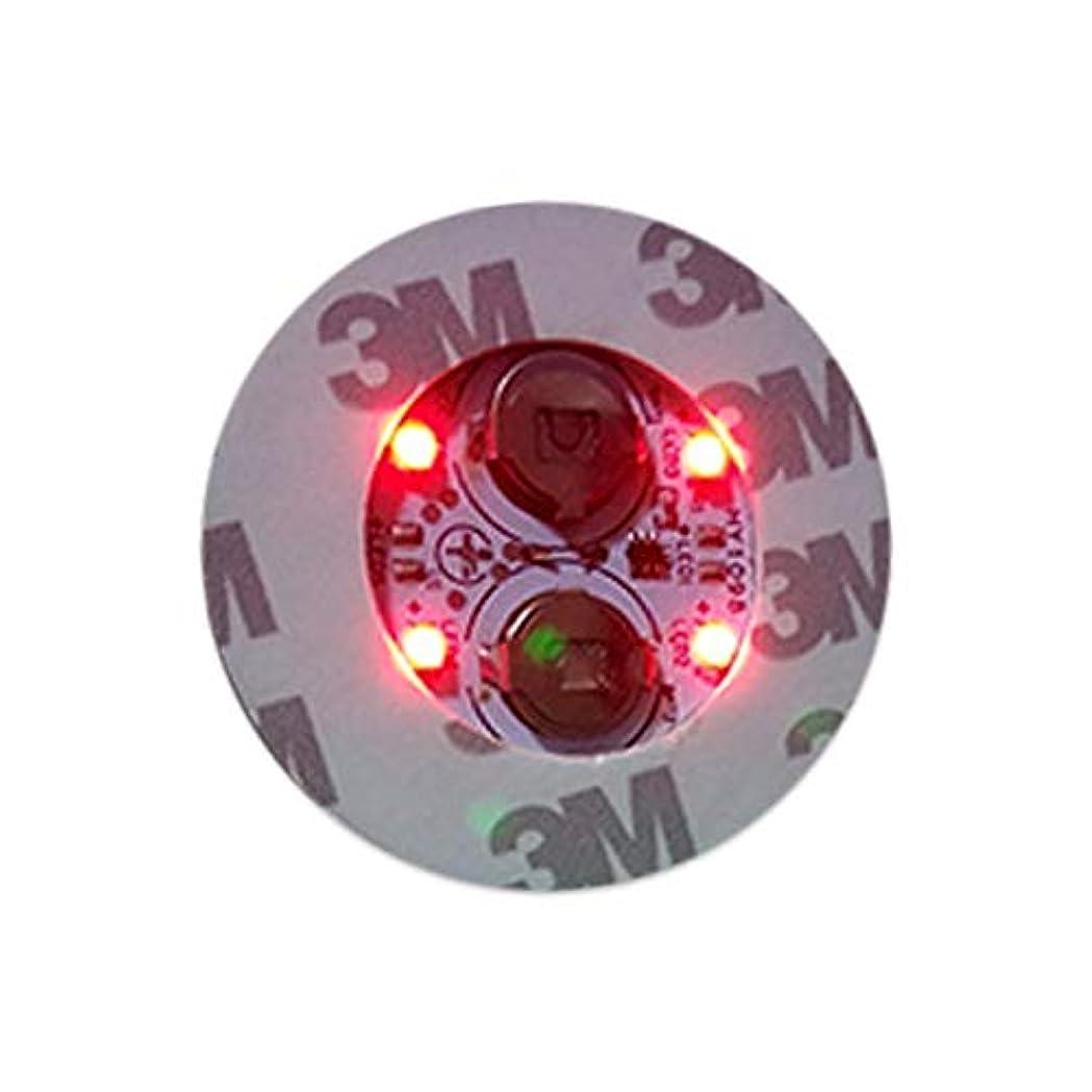 こだわり感謝祭日電光ホーム LED ボトルステッカー ボトルライト 直径 4.5cm レッド