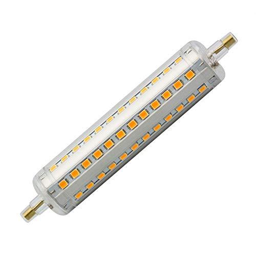 LEDKIA LIGHTING LED-Lampen R7S 18W 189mm Slim Kaltes Weiß 6000K