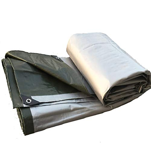 Bâche, pare-soleil tissu bâche isolation imperméable à l'eau de protection solaire bâche de revêtement de sol, une variété de tailles. (Size : 7 * 8m)