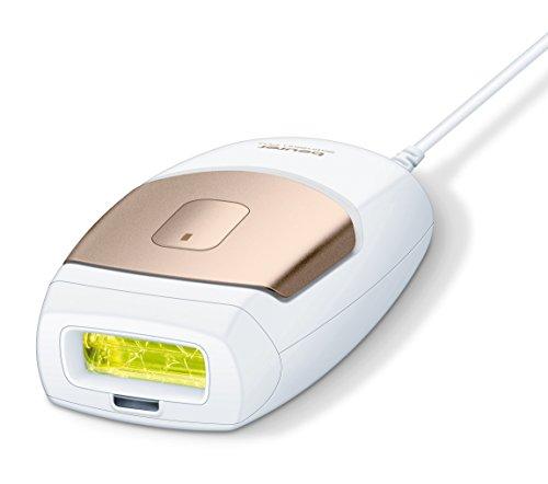 Beurer IPL-7000 - Depiladora de luz, pulsada compacta, con cartucho de 100.000 pulsaciones, color blanco