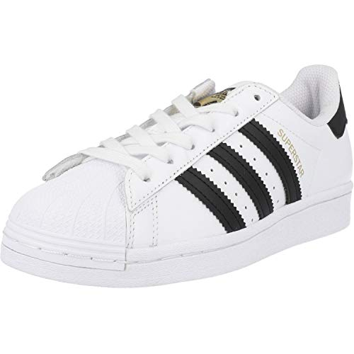 adidas Unisex-Child FU7712_35,5 Sneakers, White, 35.5 EU