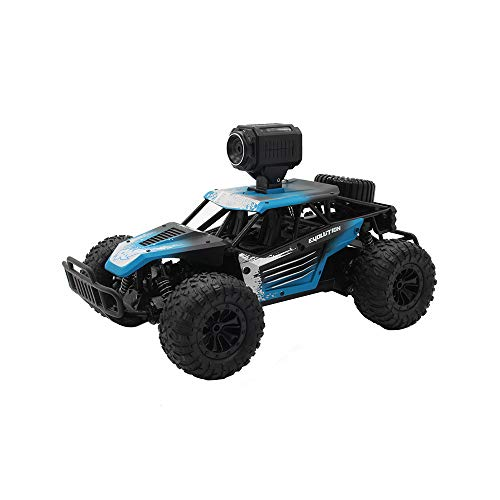 Iwähle Ferngesteuertes Auto mit 30 W WiFi Kamera, 1/18 RC Car SUV 2,4 G, Geländewagen 20 km/h, Geschenk für Kinder Junge (Blau)