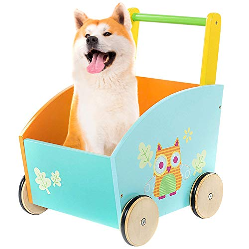 labebe - Baby Walker, Kid Shopping Cart Walker, Push Toy for 1-3 Years Old,...