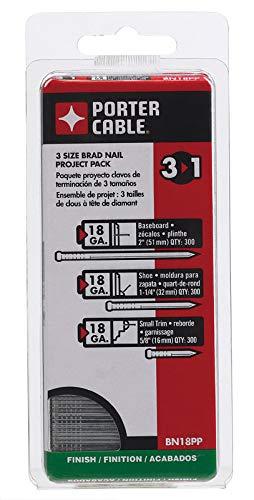"Porter Cable Brad Nail 18 Ga 1-1/4 "", 2 "", 5/8 """