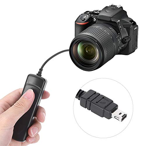 Yunir Control Remoto del Disparador, para Nikon D7100 D5000 D5100 D5200 D5300 D5500 D5600 D3100 D3200 D3300