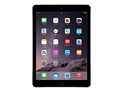 Apple iPad Air 2 64GB 4G : Space Grey : Unlocked (Renewed)