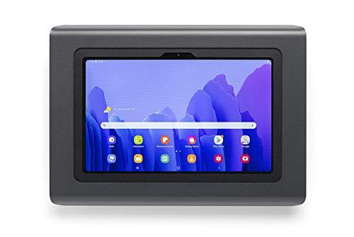 Tabdoq soporte de pared antirrobo compatible con Samsung Galaxy Tab A7, 10,4 pulgadas, negro