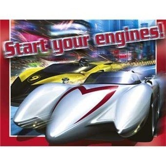 Speed Racer Invitations 8ct by Fact…