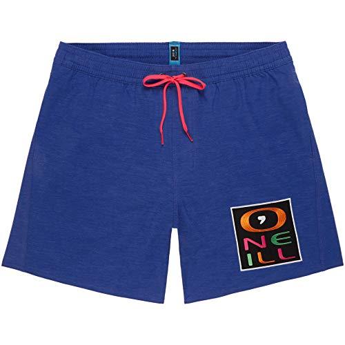 O'Neill Herren PM Re-Issue Logo Badehose, Blau (Dazzling Blue), XS
