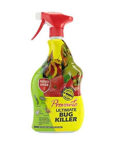 Provanto 86600244 Ultimate Bug Killer, Insecticide Protects For up to Two Weeks, 1L, Ready-To-Use