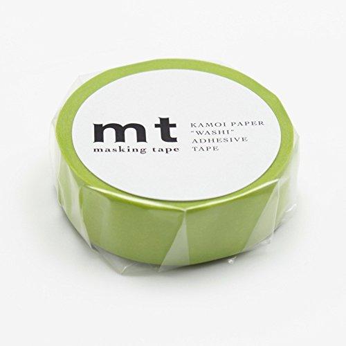 "MT Solids Washi Paper Masking Tape: 3/5""x33"