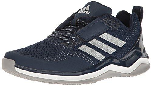 adidas Speed Trainer 3 Schuhe, Blau (Collegiate Navy/Metallic Silver/White), 36 EU