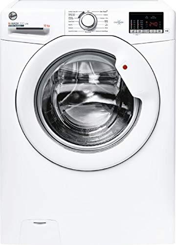 Hoover H-WASH 300 LITE Lavatrice 10 Kg, 1400 Giri, Connettività NFC, Carica Frontale, Libera Installazione, 60-58-85 cm, Bianco, Classe E